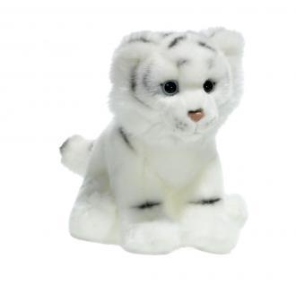 Plüschtier WWF Weißer Tiger, 19cm