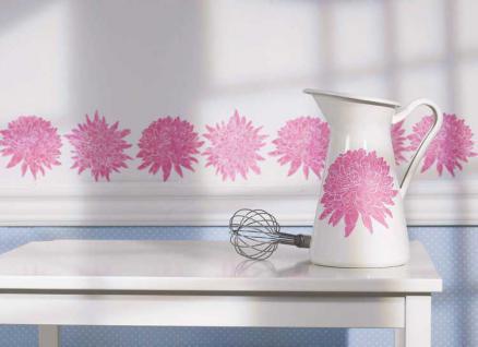 Wandtattoo, Wallies Motiv Cutouts Chrysanthemum