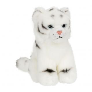 Plüschtier WWF Weißer Tiger, 15cm