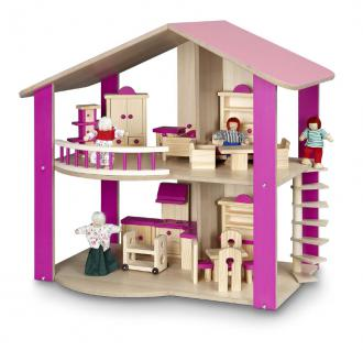 Puppenhaus doppelstöckig