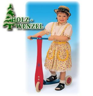 Kinderroller - Holzroller Loreen aus naturbelassenem Holz