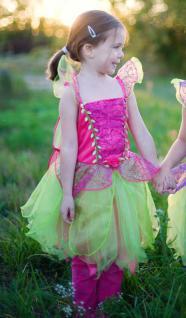 Himbeer-Fee, Kleid mit Flügeln