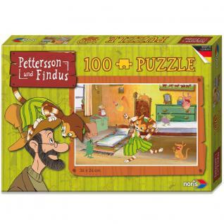 Noris Pettersson und Findus Puzzle Kinderzimmer, 100 teilig