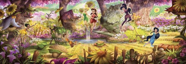 Fototapete Fairies Forest