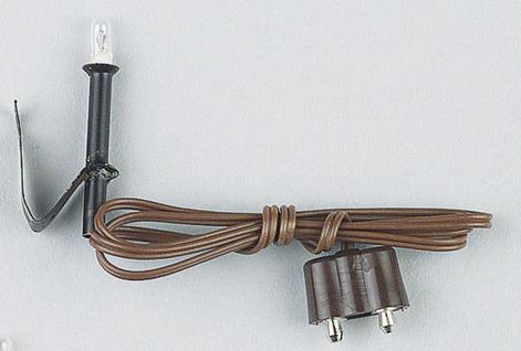 Fackel Metall, mit Halter, für Krippen- und Modellbau