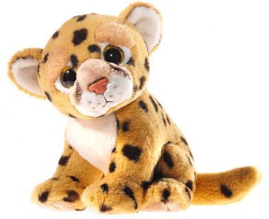 Plüschtier Mi Classico Leopard mit Glitzeraugen