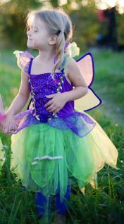 Pflaumen-Fee, Kleid mit Flügeln