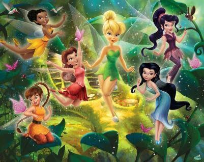 Walltastic Fototapete Disney Fairies
