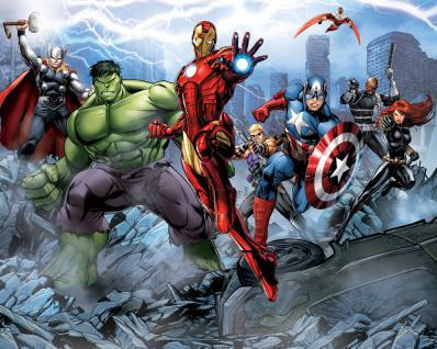 Walltastic Fototapete The Avengers