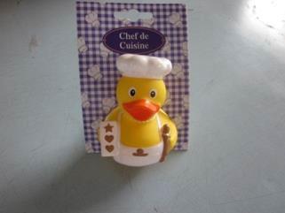 Badeente Zuckerbäcker Chef de Cuisine