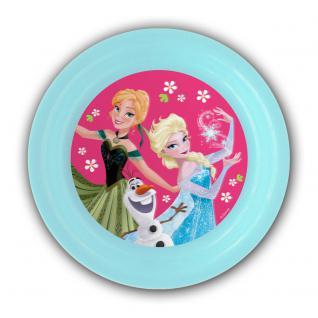 Frozen Kinderteller mit 3D Bild