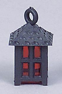 Laterne aus Kunststoff, klein, 20 mm