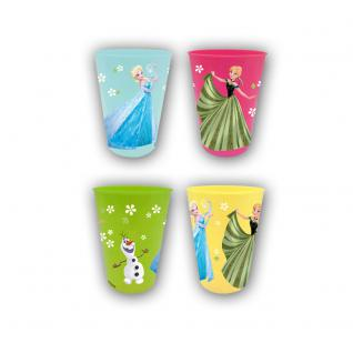 Frozen Trinkbecher, 4er Set