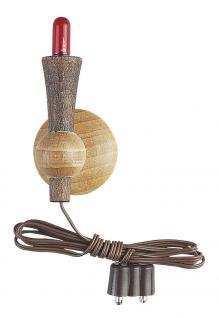 Fackel Holz mit Halter, für Krippen- und Modellbau