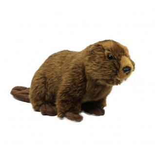 Plüschtier WWF Biber, sitzend, 23cm