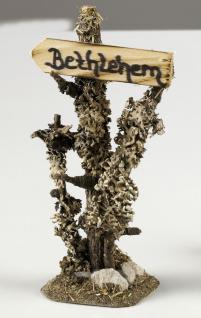 Bethlehem-Schild für Krippen, Hobby- und Modellbau