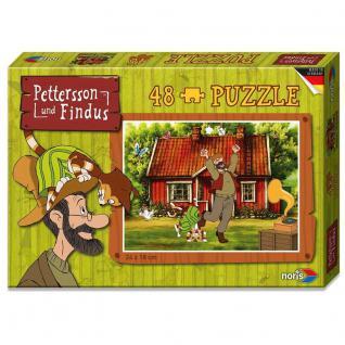Noris Pettersson und Findus Puzzle Tanzen, 48 teilig