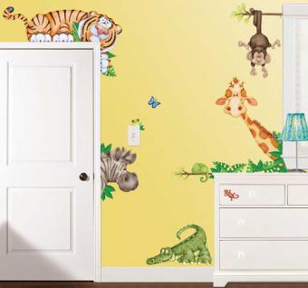 wandtattoo kinderzimmer tiere g nstig online kaufen yatego. Black Bedroom Furniture Sets. Home Design Ideas