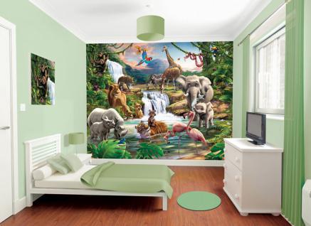 Walltastic Fototapete Dschungel-Safari