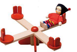 Spielplatz für Puppenstube, Karussell