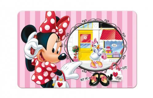 Minnie Maus 3D Platzdeckchen, 1 Stück, sortierte Ware