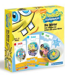 Spongebob, Schwammkopf - Die Wörter