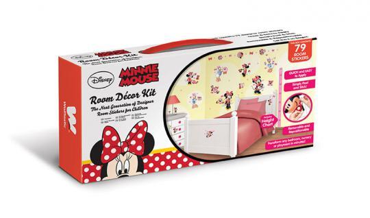 Walltastic Mini Kit Disney Minnie Mouse