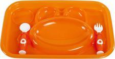 Bieco Essteller für Kinder, orange