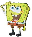 SpongeBob Wanddeko, groß, Motiv SpongeBob