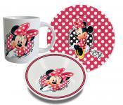Minnie Maus Frühstücksset, 3 teilig