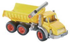 LKW, ConsTruck 3-Achs-Kipper gelb/silber von wadertoys