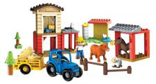 Mini Blok Town Mein lustiger Bauernhof