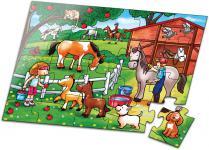Puzzle 20 Teile, Bauernhof