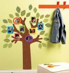 Wallies WallArt Familienstammbaum zum Aufkleben