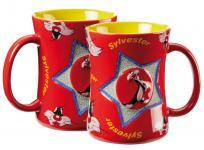 Looney Tunes Relief Tasse, Motiv Sylvester