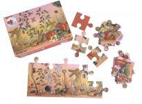 Bodenpuzzle Garten, 40 Teile