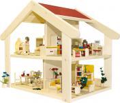 Puppenhaus Filius, ohne Möbel und Zubehör
