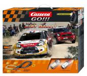 Autorennbahn Carrera Go!!! - Just Rally