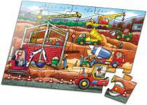Puzzle 20 Teile, Baustelle