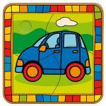 Puzzle, 4 tlg. Auto