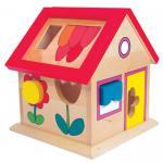 Villa Florina, Holzbox mit Steckklötzchen, 7-teilig