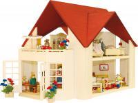 Puppenhaus Solitaire, ohne Möbel und Zubehör