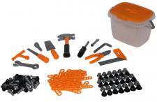 Werkzeugset für Kinder, im Eimer
