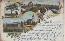 Ansichtskarte Gruss aus Elsenborn, ein altes Original