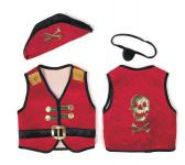 Piratenset rot
