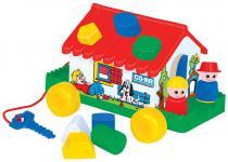 Spielhaus mit Lernbausteinen
