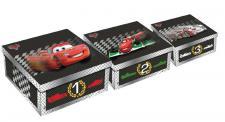 Cars 2 Aufbewahrungsboxen