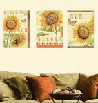 Wallies Wall Accents Sonnenblumen