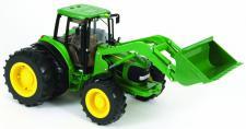 John Deere 6830S Traktor und Frontlader