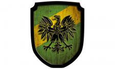 Wappenschild Adler,